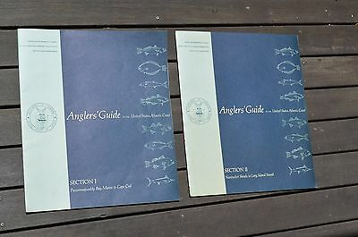Sections I & II ANGLER'S GUIDE ATLANTIC COAST Maine to Long Island - great maps