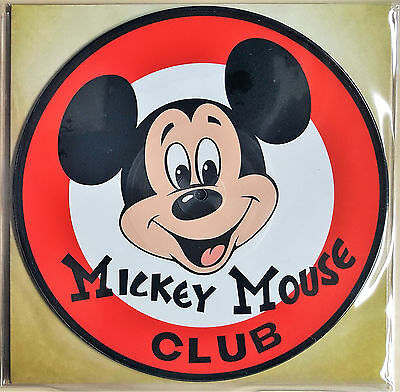 """Mouseketeers – Mickey Mouse Club March- Disneyland – 10"""" Ltd. Picture Disc"""