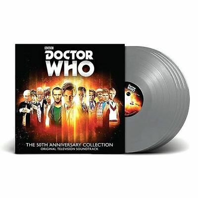 Doctor Who - The 50th Anniversary Collection on Silver vinyl. Limited to 1000.