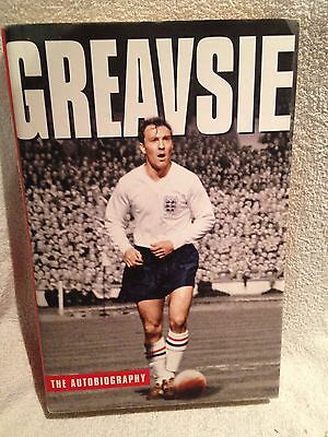 Signed First Edition Greavsie - Jimmy Greaves Autobiography