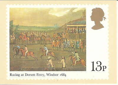 GREAT BRITAIN - HORSE RACING -  POST CARD PHQ36(d) - 1979