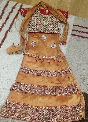 Indian/Pakistani lengha size 26 for girls beautiful embroided