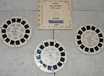 View-Master reels,set of 3, Lassie and Timmy, No's B4741, B4742 & B4743