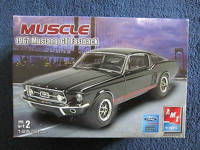 1967 Mustang GT Fastback AMT/Ertl Muscle #31550 1/25 scale