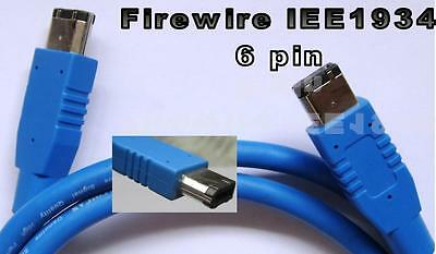 CABLE FIREWIRE IEE 1934 6 PIN-6PIN 1m. DF-660