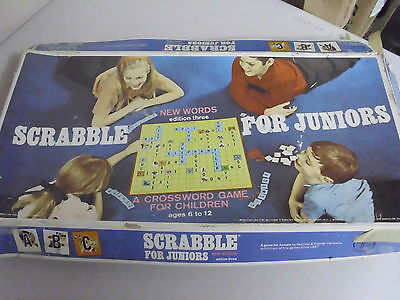 Scrabble For Juniors Board Game Replacement Pieces Only
