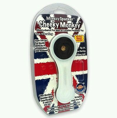 Monkey Spanker Cheeky Monkey Toy Fun for Men and Couples