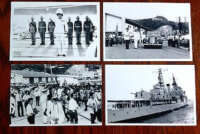 Governor departure  (Jesselton)K.K.(approx.1950-60s)group  of 4