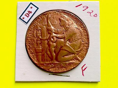 US Philippines COIN ONE PESO 1920 WOODROW WILSON (BRONZE)   SEA RECOVERED