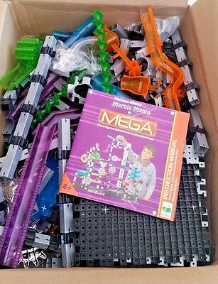 The Learning Journey Techno Gears Marble Mania Mega 430+ Pieces  NEW