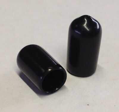 5mm End Caps, End Covers for Tubes, Rods & Threads, rubber plastic