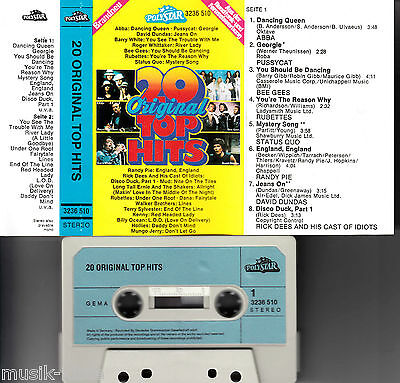 V.A. - 20 Original Top Hits *Abba,Pussycat,Mud,Hollies ★ MC Musikkassette
