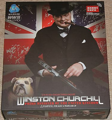 dragon action figure did 1/6 12'' expo special winston churchill boxed toy  ww11