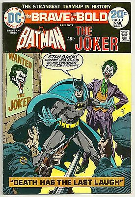 The Brave and the Bold #111 (Feb-Mar 1974, DC) - Fine+