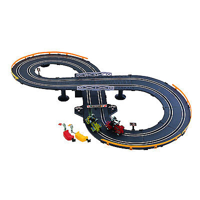 Electric Racing Set Race Control Track Battery Power Operated Chase ATV Slot NEW
