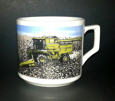 Vintage John Deer Employee Recognition 1983 Glass Mug Cup EUC 3.25 x 3.5