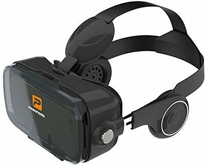 Pasonomi VR 3 (2017 Best VR Glasses) - Virtual Reality Headset With Stereo For