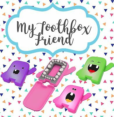 My Toothbox Friend/ Dental album/ Tooth Fairy Box. Pink, Green Or Purple