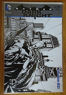 Batman The Dark Knight #11 - 1:25 Sketch Variant Cover - DC Comics The New 52