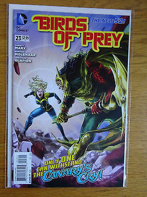 Birds of Prey #23 - The New 52 - DC Comics - 1st Print - Black Canary