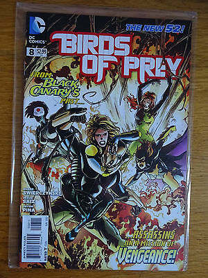 Birds of Prey #8 - The New 52 - DC Comics - 1st Print - Black Canary