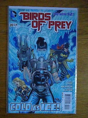 Birds of Prey #20 - The New 52 - DC Comics - 1st Print - Cold As Ice, Mr Freeze