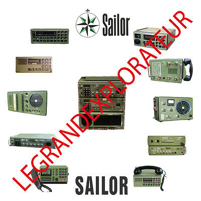 Ultimate Sailor Marine Radio Operation Repair Service manual 440 PDF manuals DVD