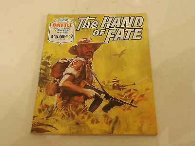 BATTLE PICTURE LIBRARY NO 488!,dated 1970!,V GOOD FOR AGE,RARE ISSUE,47 yrs old.