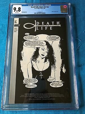 Death Talks About Life (1994) - DC Vertigo - CGC 9.8 NM/MT