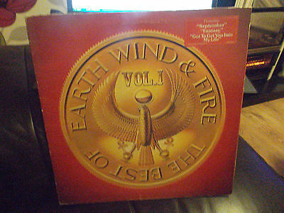 Earth Wind And Fire  Vol 1 Lp