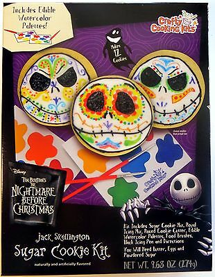 Disney NIGHTMARE BEFORE CHRISTMAS Jack DAY OF THE DEAD Muertos Sugar COOKIE KIT!