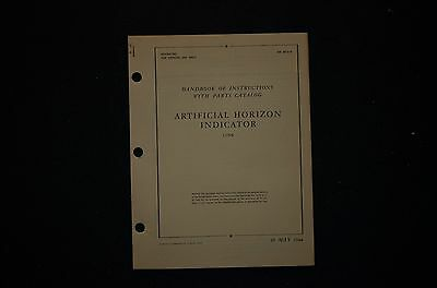 1944 Link Trainer Approach Indicator /  Horizon Instructions & Parts T.O.'s B-17