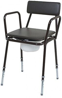 NRS Healthcare F18864 Dovedale Commode - Adjustable Height