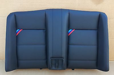 BMW E30 Cabriolet Seat cover Rest leather interior seat M3 M-technology black