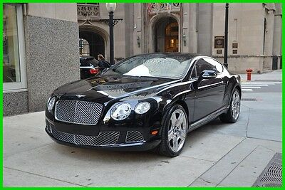 2012 Bentley Continental GT GT Coupe 2-Door 2012 Used Turbo 6L W12 48V Automatic AWD