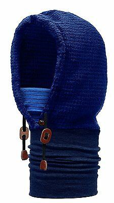 Buff Medieval Thermal Hoodie Buff - Blue, One Size