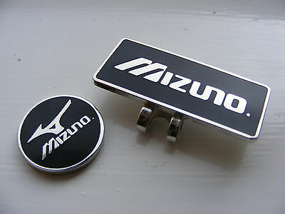 Mizuno magnetic golf ball marker with matching clip         .45