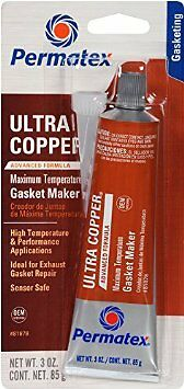 NEW Permatex 81878 Gasket Sealer; Ultra Copper (R); Squeeze Tube; 3 Ounce;
