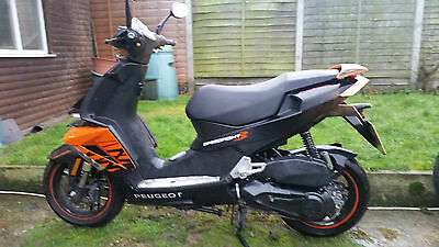 2016 Peugeot Speedfight 3, 125 Darkside spares or repair