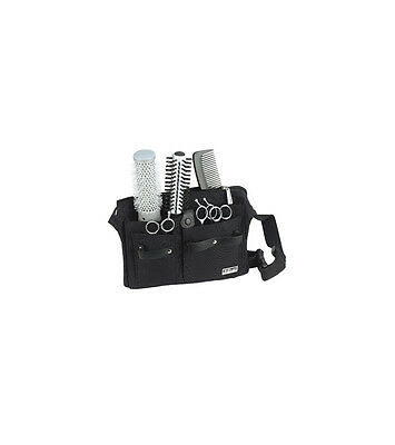 Sibel Professional Hairdressing Black  Belt Tool Bag Waist Belt For Salon Use