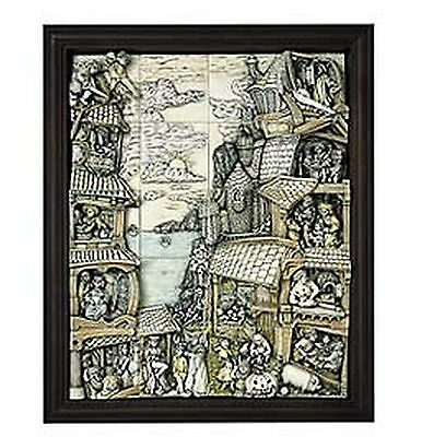 Complete, NEW 20 tiles Wimberley Tales!+ PICTURESQUE FRAME HARMONY KINGDOM