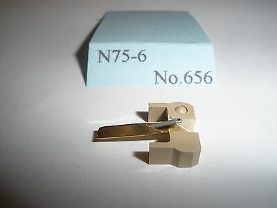 Replacement Diamond Stylus to fit Shure N75/6.
