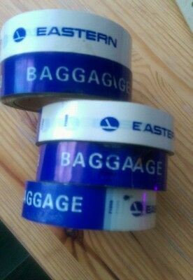Vintage Eastern Airlines EAL packing tape for Baggage at ticket counter original
