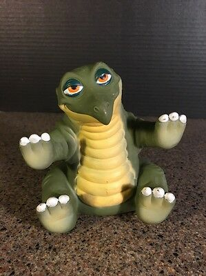 1988 SPIKE Dinosaur PVC Pizza Hut Action Figure Land Before Time Hand Puppet