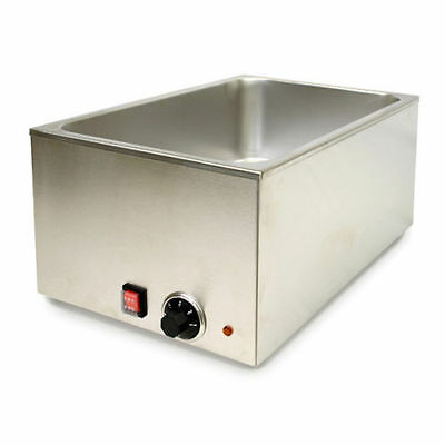 Counter Top Food Warmer Stainless Steel Brushed 3.5 Quarts NSF & ETL