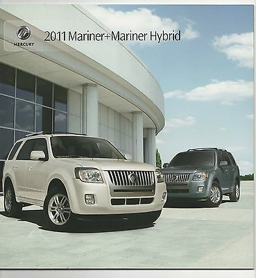 2011 Mercury Mariner brochure last publication rare