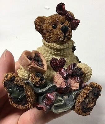 Boyds Bears & Friends The Bearstone Collection Bailey...Heart's Desire