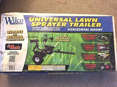 Wilco 4-ND Universal Lawn Sprayer Trailer - 15 & 25 Gal. Tanks Horizontal Mount