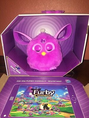 Furby Connect TOY, Unisex Kids Electronic interactive FURBY TOY, Purple Open Box