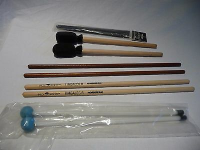 Various Orchestral Wooden Beaters x Pairs
